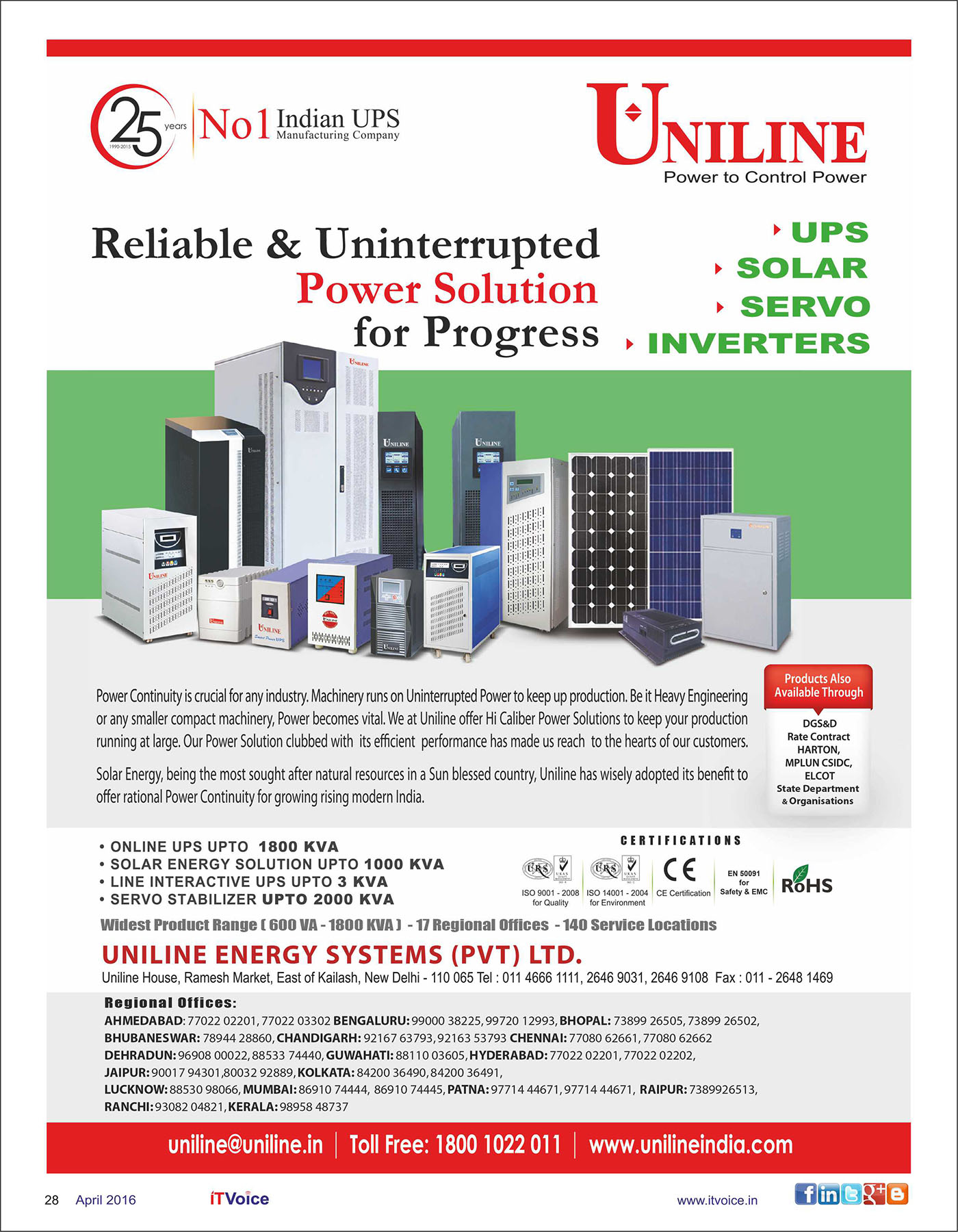 Itvoice Online It Magazine India Voice April 2016 Edition Zebronics Ups Circuit Diagram