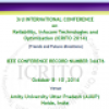 3rd International Conference on Reliability, Infocom Technologies & Optimization 2014