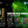 BIOSTAR Offers Intel Crypto Mining Motherboards with full ethOS Mining OS Support