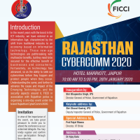 Rajasthan CyberComm 2020, Jaipur, Tuesday, 28th January 2020