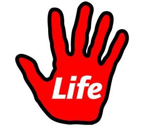 LIFE hand logo