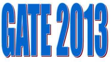 GATE 2013