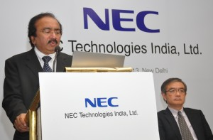 NEC Technologies Press conference