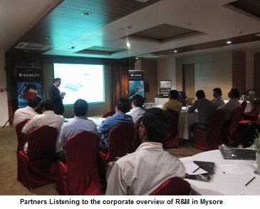 Partners Listening to the corporate overview of R&M in Mysore _1