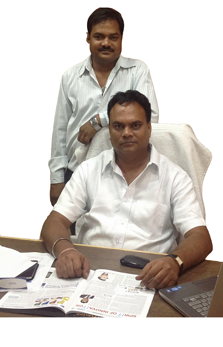 Mr. Saurabh Agrawal, Founder, MSCPL, with his brother Mr. Atul Agrawal, Co-Founder, MSCPL