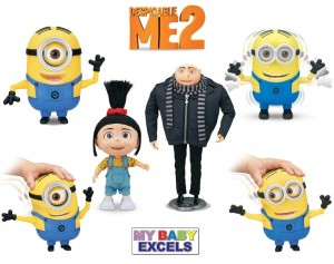 Despicable Me 2 Toy Range