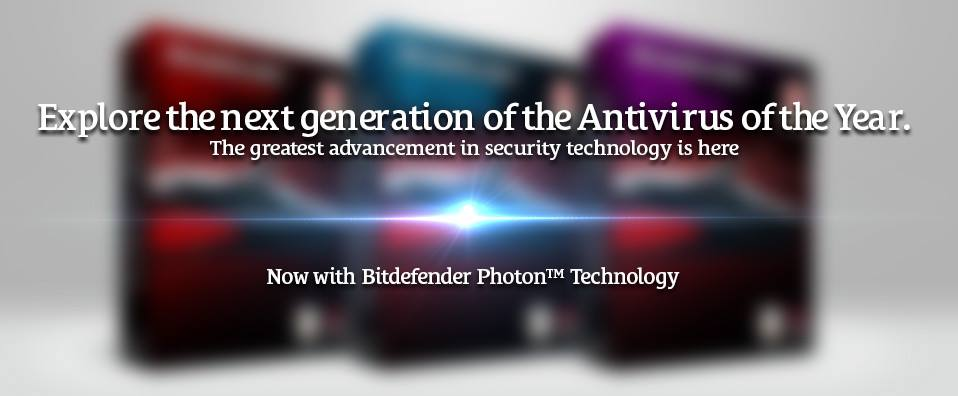 Bitdefender new Line of Anti-Virus with Photon Technology