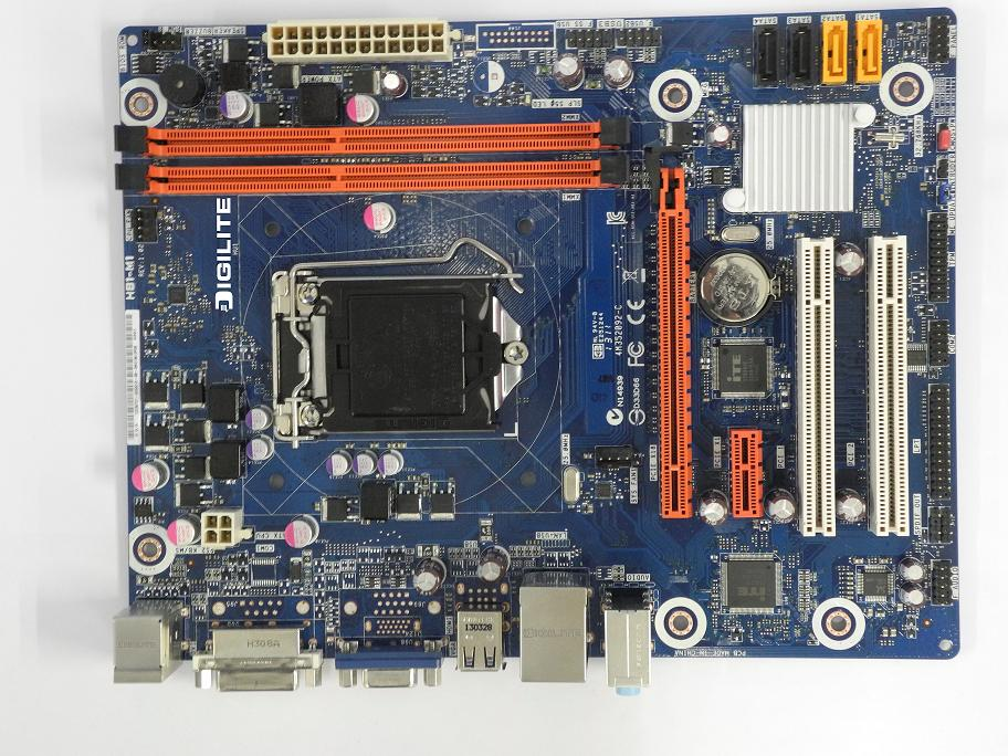 DIGILITE has introduced new motherboard DL-H81-M1 with Intel Haswell LGA 1150 Socket