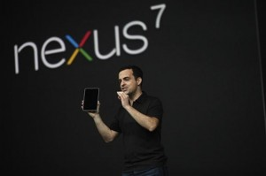 Google unveils Nexus 7 tablet at Google I/O 2012 Conference
