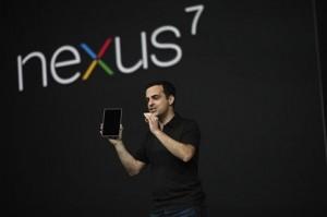 Google unveils Nexus 7 tablet at Google I/O 2012 Conference