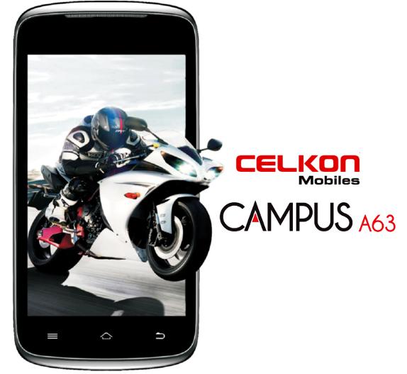 Celkon-Campus-A63