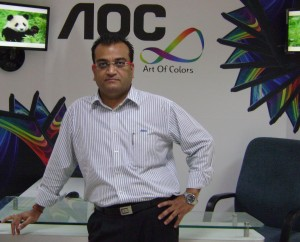 Mr. Saurabh Grover, Director , Monitor & Tablet Business AOC India