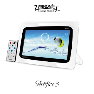 Zebronics Unveils Digital Photo Frame Artifice 3-1
