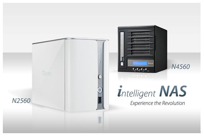 Thecus N2560 NAS Server Update