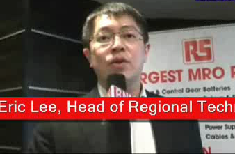 Eric Lee, Head of Regional Technical Marketing, Asia Pacific, R.S. Components_Oct'13