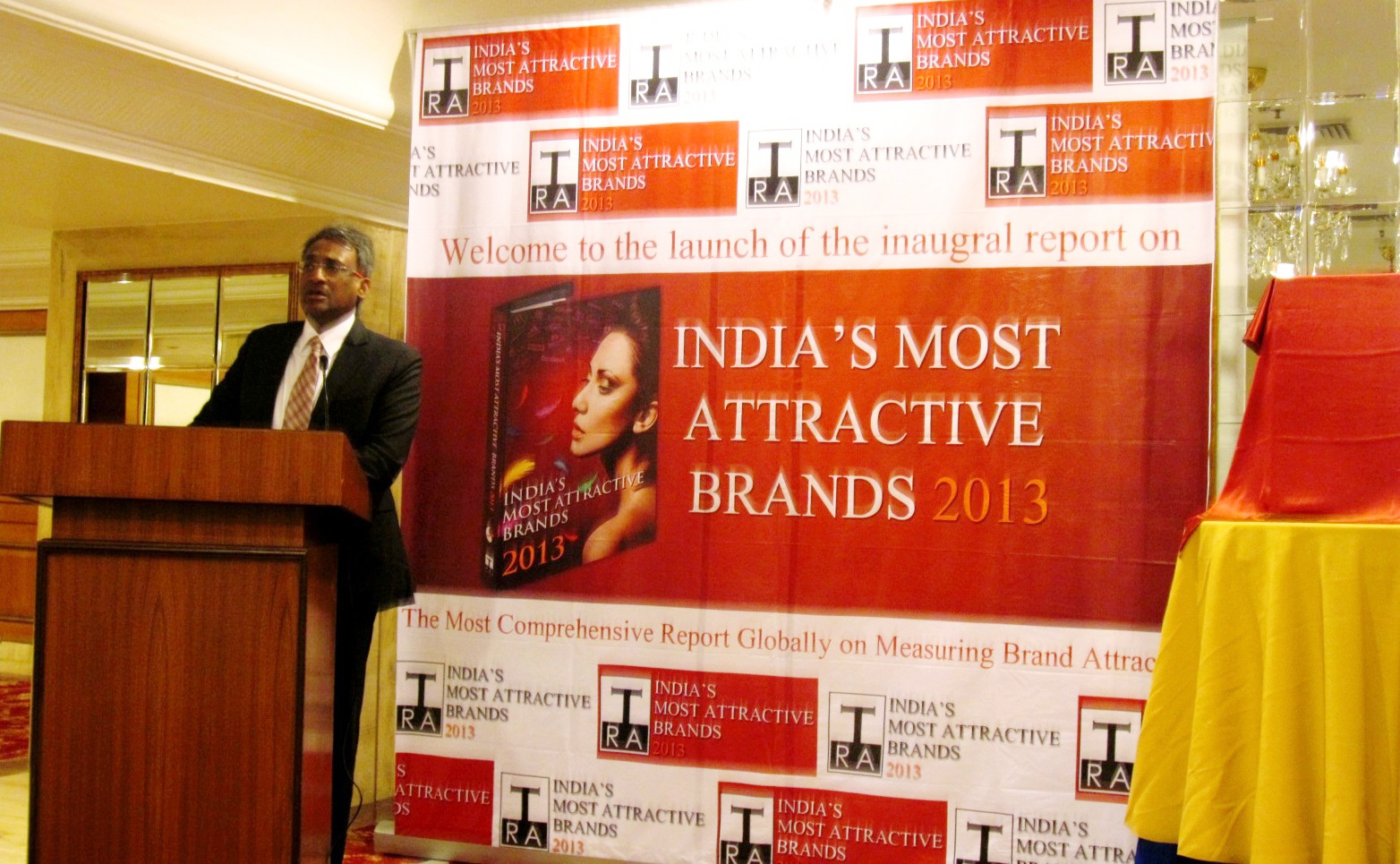 Mr. N. Chandramouli at the Launch of IMABR