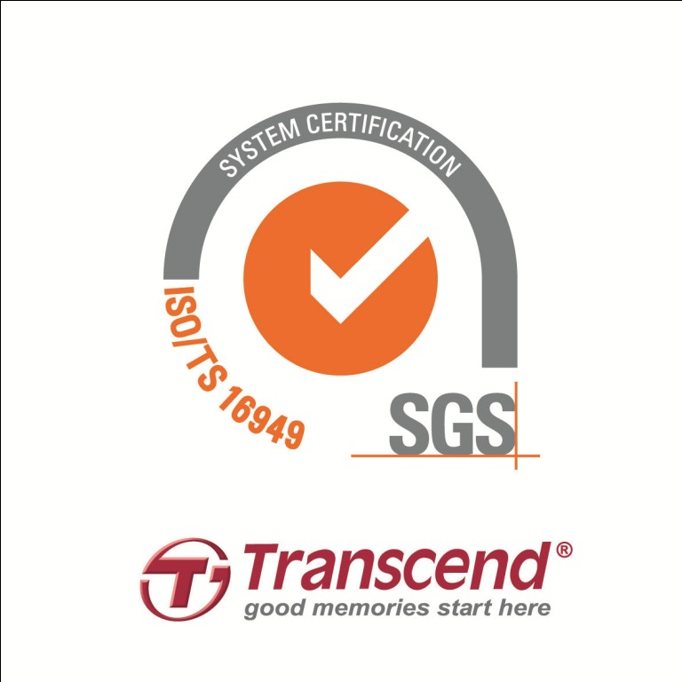 Transcend Awarded TS16949 Certification
