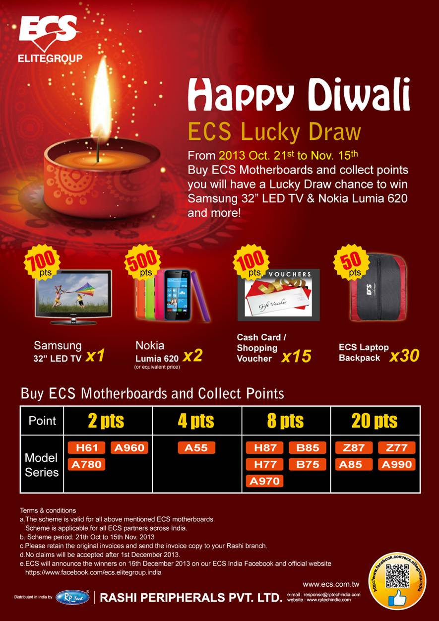 ItVoice | Online IT Magazine India » Be the Lucky One this Diwali ...