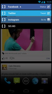 Channel switcher - SO.HO social launcher v1.0