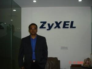 Pinaki Chatterjee- Executive Director Distribution Channel & Business Development, ZyXEL Technology