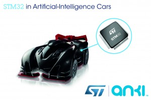 STM32 in Anki Drive