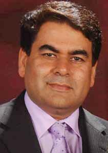 Mr. Sandeep Arya, Chairman, Amtrak Infosystem Pvt Ltd.
