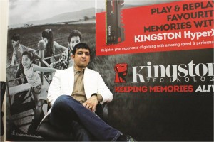 Mr. Vishal Parekh, Marketing Director, Kingston India