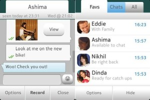 WhatsApp now on Asha 501