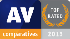 AV Comparatives Top Rated 2013