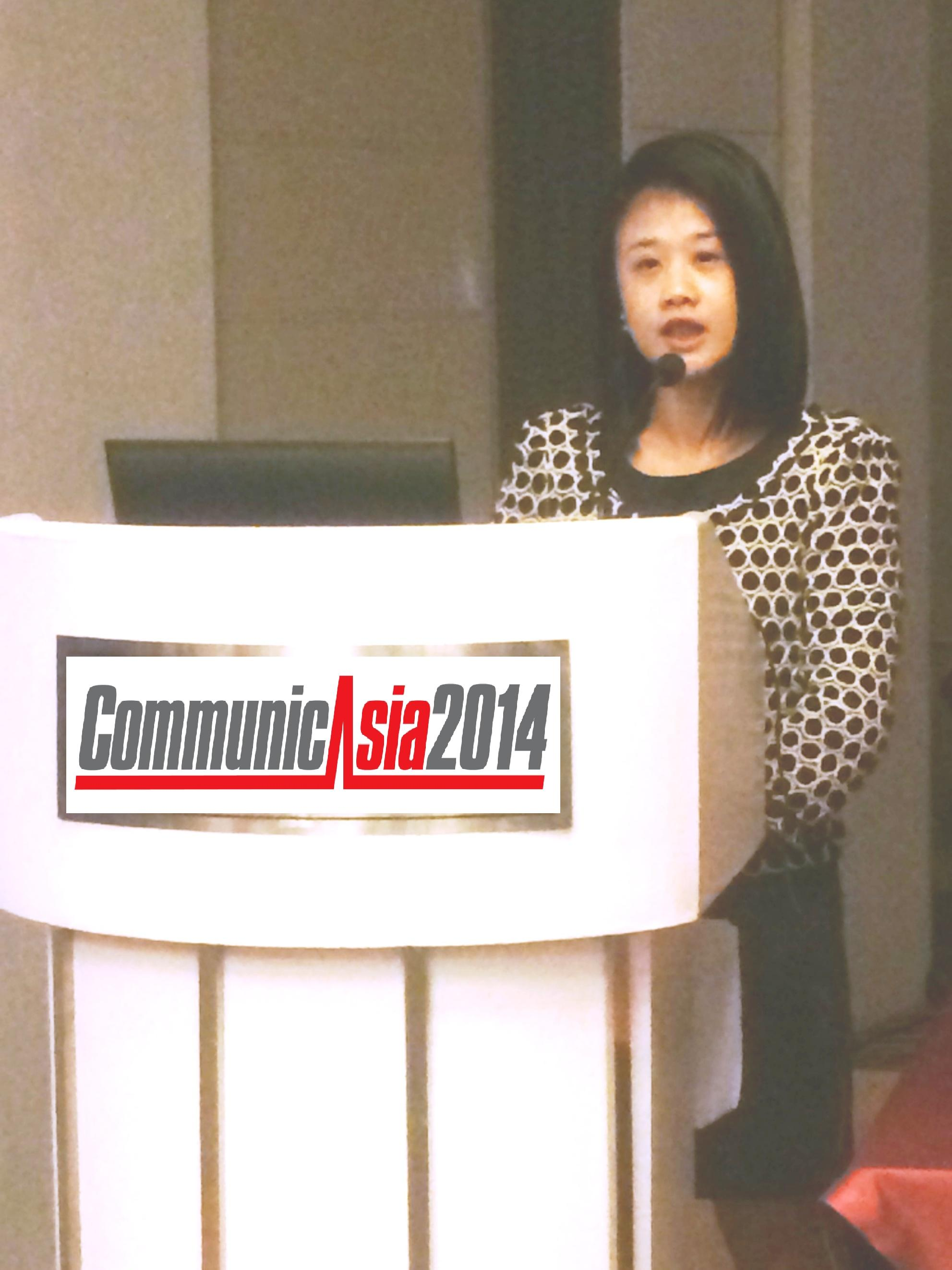Agnes Leung, Assistant Project Director, Communications Events, Singapore Exhibition Services