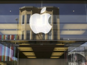apple logo marina store