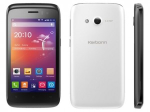 karbonn titanium s1 plus front back side saholic