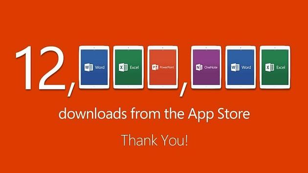 microsoft_office_ipad_apps_cross_12_million