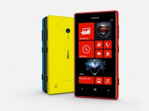 nokia lumia 720 man of steel