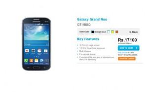 samsung galaxy grand neo price cut pics