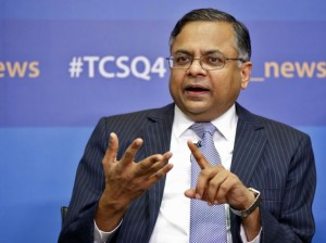 tcs chief executive