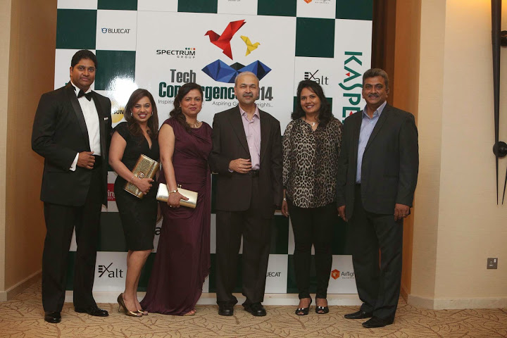 Mr Ajay Singh Chauhan- CEO, Spectrum Group with team
