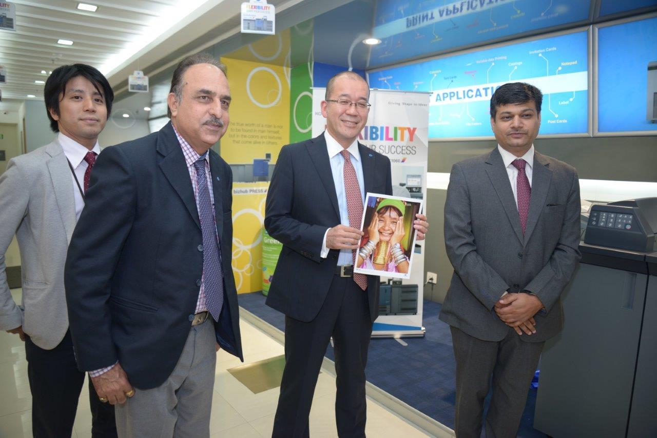 Mr. Kuldeep Malhotra EGM and Mr. Yuji Nakata MD Konica Minolta