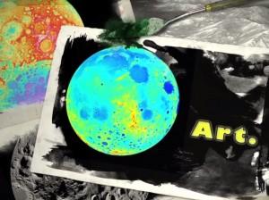 moon as art promo nasa