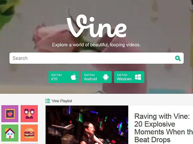 vine_web_version_update_features_screenshot