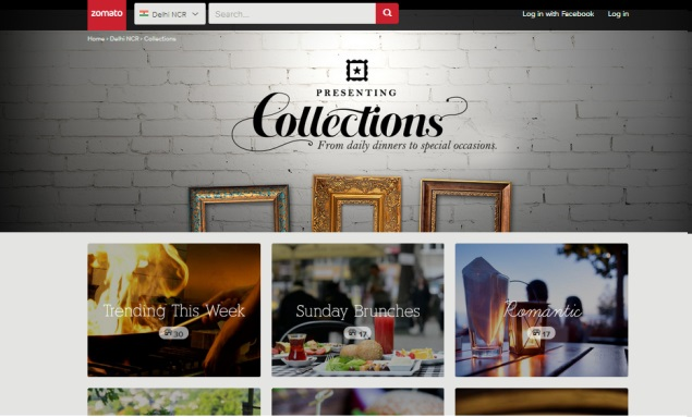 zomato_collections_website_home