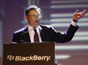 blackberry ceo john chen at z3 launch