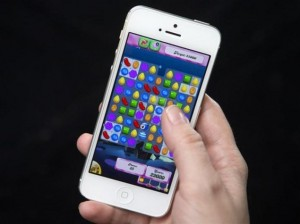 candy crush on iphone