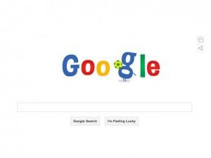 google doodle world cup football