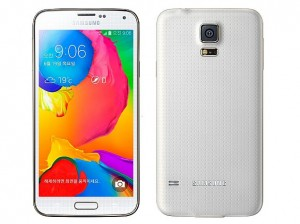 samsung galaxy s5 lte a white front back