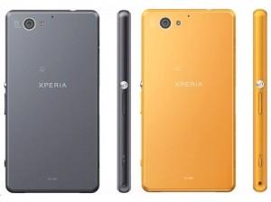 sony xperia a2 launch orange black japan website