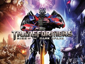 transformers rise of the dark spark poster
