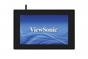 Viewsonic_photo1_ViewSonic Expands ePoster Family, Unveils Interactive Power-over-Ethernet (PoE) Mini Billboards