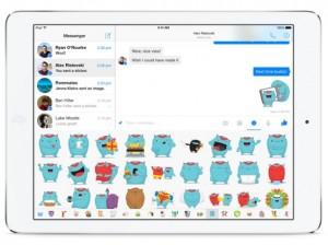 facebook messenger ipad screenshot