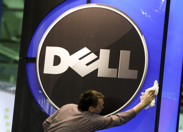 man-cleaning-dell-logo-itvoice